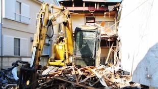 解体工事のイメージ